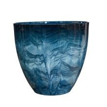 Vasos para plantador de flores de argila de fibra com novo design