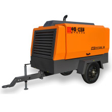 HG425M-10 deux roues diesel portable compresseur d'air