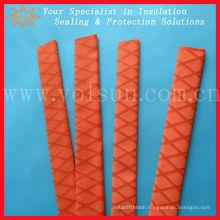 Nonslip heat red shrink tubing for fishing rod