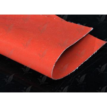 Tissu en fibre de verre revêtuté en silicone