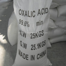 Acide oxalique de haute qualité 99,6% pour le tannage du cuir