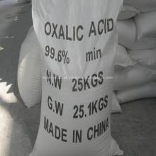 Ácido oxálico de alta qualidade 99,6% para curtimento de couro
