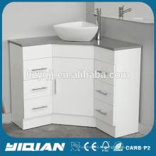 Moderno Vanity De Banheiro De Lacados De Lustre Superior Banheiro De Vanity Lavatório De Bacia Vanity MDF Vanity Corner De Banheiro