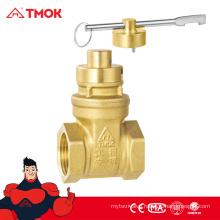 TMOK brass magnetic lock valve Hpb57-3 forged Brass water Gate Valve 1/2 inch