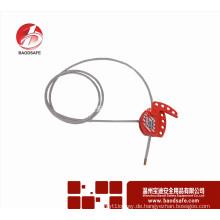Wenzhou BAODI Universal Verstellbare Kabelschloss Lockout Tagout BDS-L8611 Rot