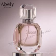 Botella de perfume de cristal del precio de fábrica de China con el espray y el atomizador