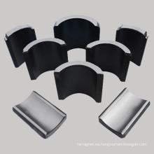 Segmentos de arco de ferrita sinterizado Magnet Usado en Motor