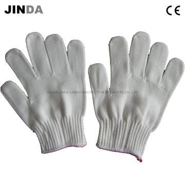 Трудовые защитные бытовые строительные трикотажные рабочие перчатки (K001)