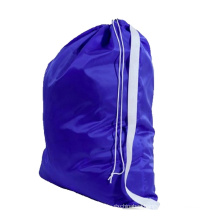 Nylon laundry wash bags with shoulder strap for hotel