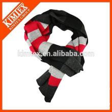 Оптовые пользовательские акриловые женщины вязать шарф