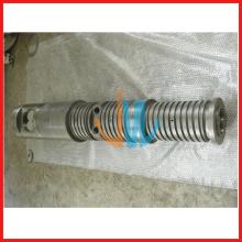 konische Doppelextruderschnecke und Zylinder für Kunststoffextruder