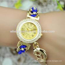 Viaje de vacaciones delfines colgante señoras reloj pulsera inteligente