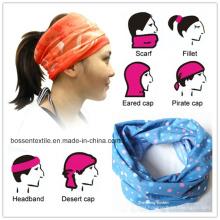 Custom Seamless Style Bandana Headwear Scarf Wrap