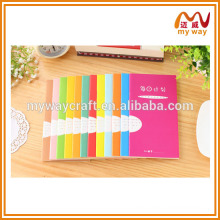 2014 new design organizer planner agenda diary, colorful school stationery