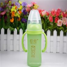 6oz 180ml бутылка младенца термально кремнезема геля кремнезема