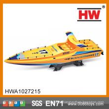 1/4 Escala 4CH RC PVC Aspiración barco cuerpo plástico niño barco