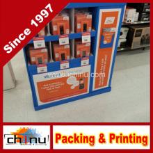 Equipamento de comunicações do telefone móvel Painel ondulado Display de palete (6135)
