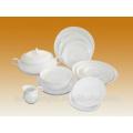 New product 14 pcs porcelain dinner set