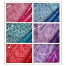 Snow Flake Organza Fabric, Snow Organza, Marriage Gauze Cloth.