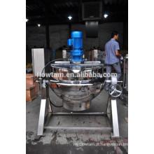 Máquina de cozinhar do aço inoxidável, chaleira elétrica do revestimento de aquecimento