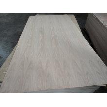 1220 * 2440mm madera contrachapada natural de la ceniza