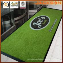 Anti-Slip Nylon Printed Logo Carpet for Main Entrance