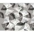 PVC gedruckt Muster Vinyl Tischdecke Kunststoff transparent
