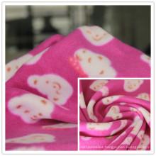 FDY 150d/96f 100%Polyester Fleece Printed Polar Fleece, Blanket Fabric, Home Textile Fabric, Garment Fabric.