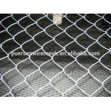 Material de alambre de hierro de bajo carbono y agujero cuadrado