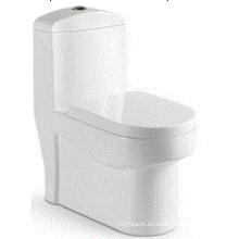 Cuarto de baño del diseño de la manera Lavado One Piece Ceramic Toilet (6510)