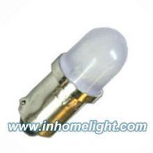 Lâmpadas led de diodo emissor de luz redondo 1 LED BA9S Marine