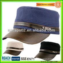 custom supreme leather cap