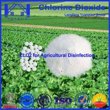 Dioxyde de chlore sûr et vert pour la désinfection de l'agriculture