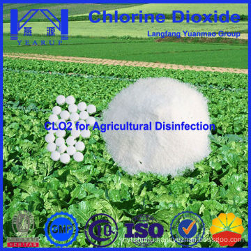 Safe and Green Chlorine Dioxide for Agriculture Disinfection