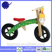 Crianças bicicleta de dobramento de madeira para meninas