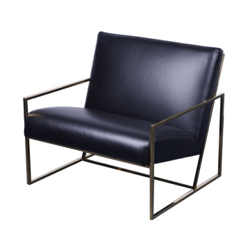Chaise longue moderna in pelle economica