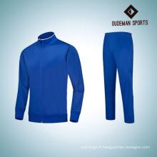 2017 dernières survêtements de sport du polyester 100% de conception pour le survêtement de course des hommes