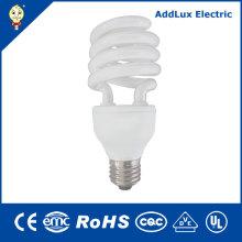 Ce UL 20W 24W E27 B22 Lámparas fluorescentes compactas espirales