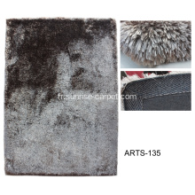 Tapis Shaggy en fourrure imitation