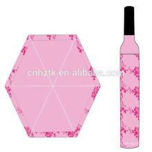 Weinflaschenschirm / japanischer dallregenschirm