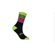 Дышащий унисекс Мужчины Женщины Велоспорт Компрессионные спортивные носки Запуск индивидуальный логотип