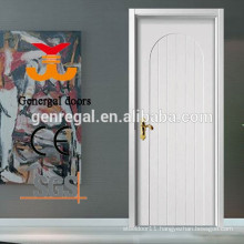 Modern wooden inner white lacquer door