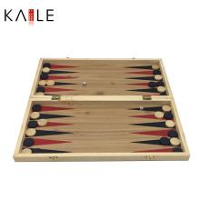 Jogo de xadrez de madeira 3 em 1 fabricante de gamão de tabuleiro de xadrez