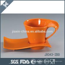 043-2DO 180CC Bonne qualité personnalisée en céramique japonaise tasse et soucoupe