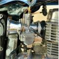 55mm 7 cores Carburador Da Motocicleta Air Filter Cup O Copo Do Vento Chifre Copo Fit KeihinPWK OKO KOSO Carburador