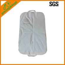 funda de traje / bolsa de ropa de PVC reutilizable personalizada
