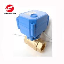 DN15 latón CR01 3.6V-6V 5V 12V cwx-15q mini válvula de radiador eléctrico