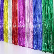 Rideau à chaînes adapté aux besoins du client de taille d'aluminium de décoration populaire avec de divers types de couleur