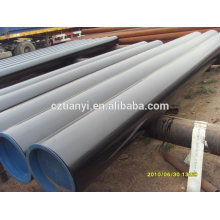 Hot Galvanizing ASTM A106 sch40 LSAW Steel Pipe