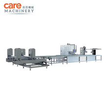 UPVC PVC Plastic Automatic Welding Corner Cleaning Production Line
